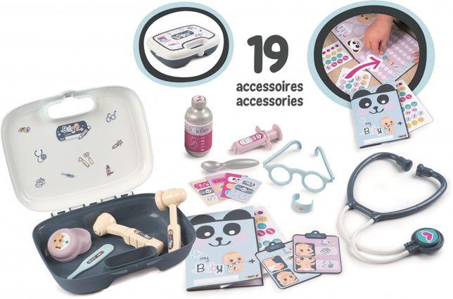 Игровой набор Smoby Toys Уход за куклой лечение 240301