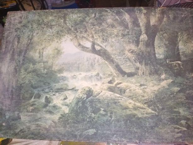 Картины.довольно старые,2 штуки.икона тоже старая,писана на цельном де
