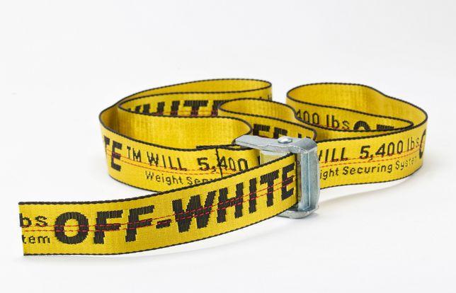 OFF-WHITE PASEK off white 3 rozmiary