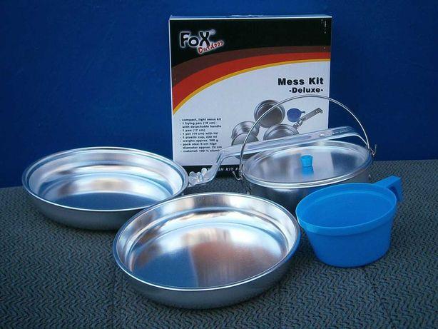 """Набір посуду похідний 4 в 1 алюмінієвий """"De Lux"""", Max Fuchs AG"""
