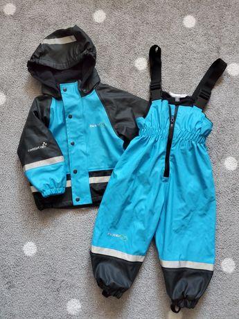 Прорезиненая куртка, комбинезон, дождевик, деми , осень-весна р.80
