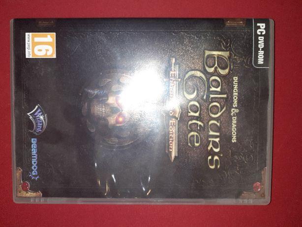 Baldur's Gate Enhanced Edition pc DVD black pits tales of the sword co