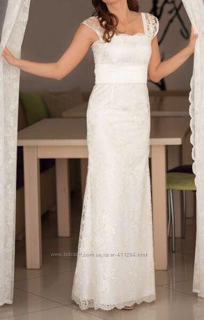 Весільна сукня гепюр, свадебное платье