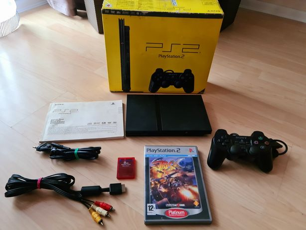 Ps2 PlayStation 2 slim  Box  orginalna  Karta