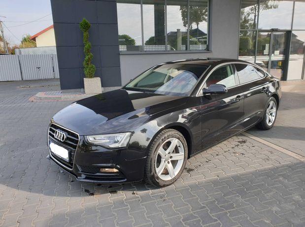 Audi A5 Sportback, ledy, parki, alu, klima, automat, 170 KM, ładna !!!