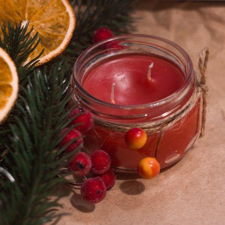 Свеча, новогодняя свеча, свеча ручной работы, ароматические свечи
