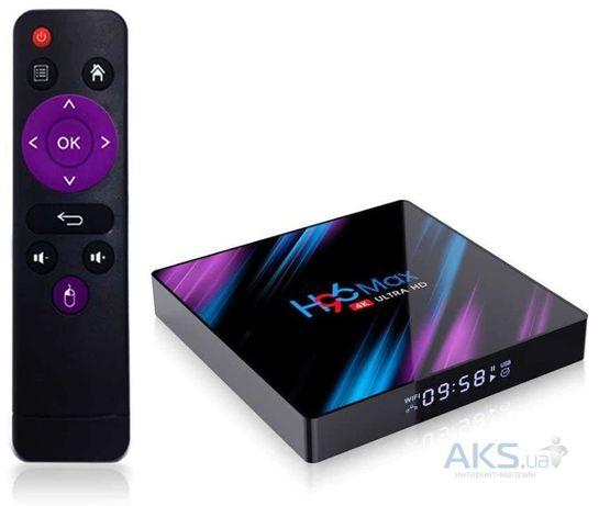 Смарт приставка Android TV Box H96 Max 4K UltraHD 2/16 GB Гарантия Год