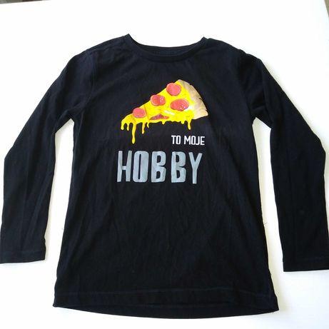 Cool club bawełniana bluzka rozm 128 pizza