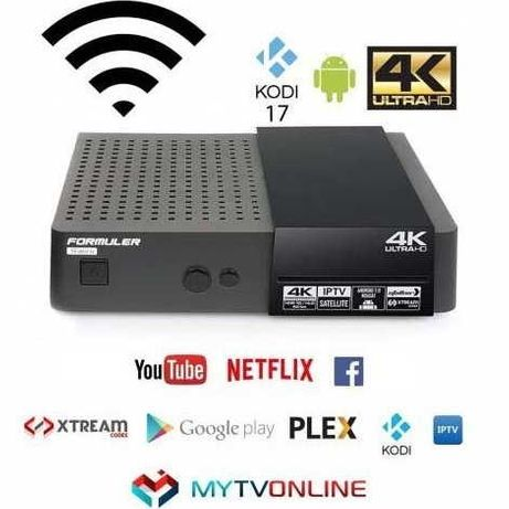 Formuler S Mini 4K Android 7 Recetor SAT & IPTV
