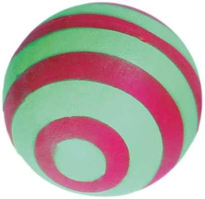 Piłka ślimak Happet 57mm zielono-bordowa
