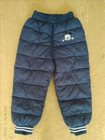 Теплые детские штанишки