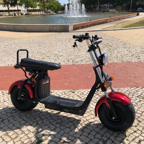 Scooter Electrica Mota Moto Eletrica Faro Nova
