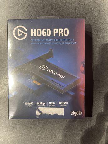 Карта видеозахвата Elgato Game Capture HD60 Pro Black