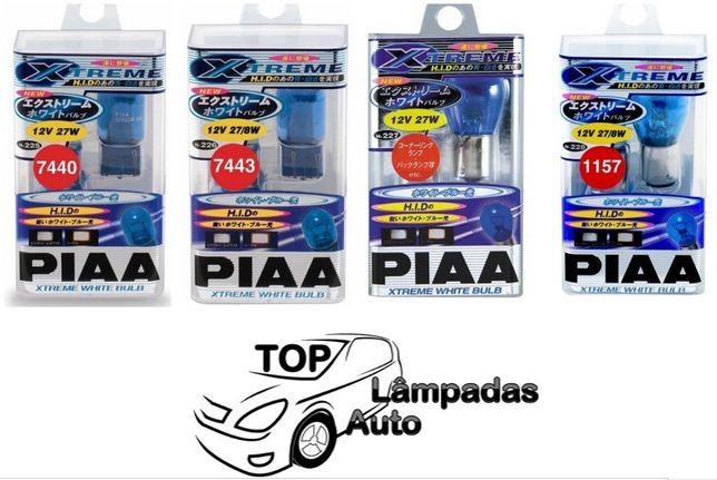 Lâmpadas PIAA XTREME WHITE P21W - P21/5W - W21/5W - W21W - W16W