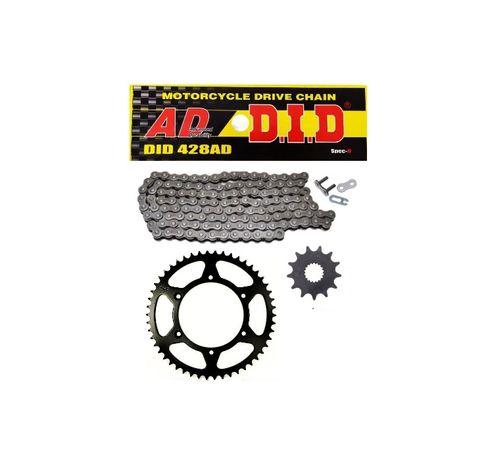 Zestaw napędowy zębatki łańcuch DID Yamaha TDR 125 TDR125 2t NOWE