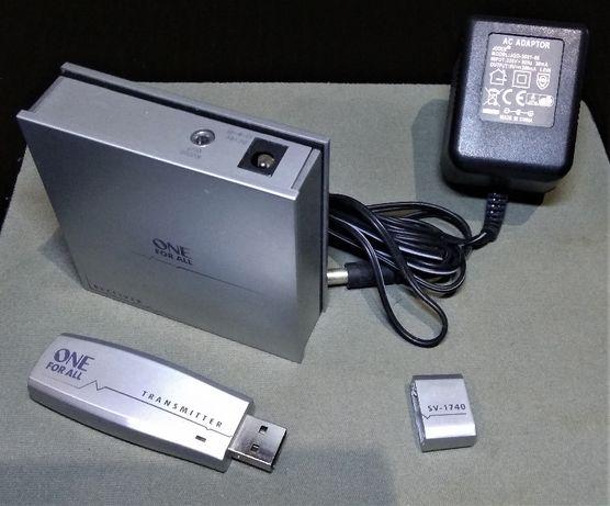 Emissor-Receptor Wi-fi Audio USB One For All SV-1740 (30 metros)