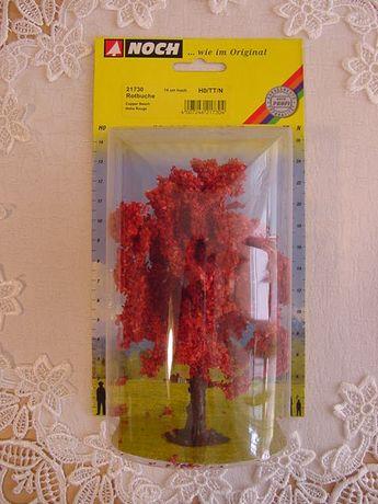 Drzewka na makietę Czerwony klon - 1szt 14cm - NOCH 21730