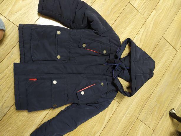 Зимняя куртка. 6-7 лет