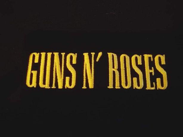 Koszula czarna punk guns'n roses tanio