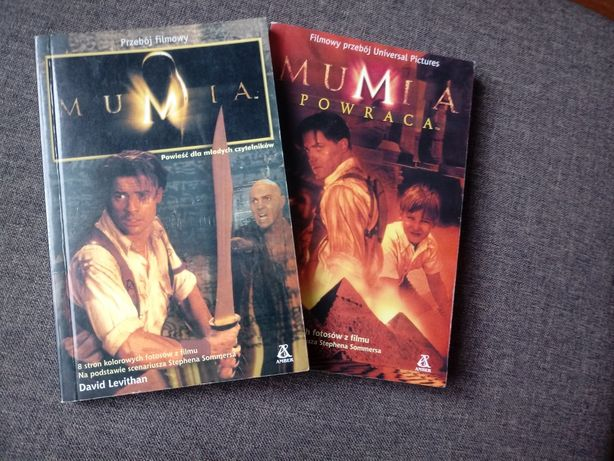 Książka mumia 1 i 2 część
