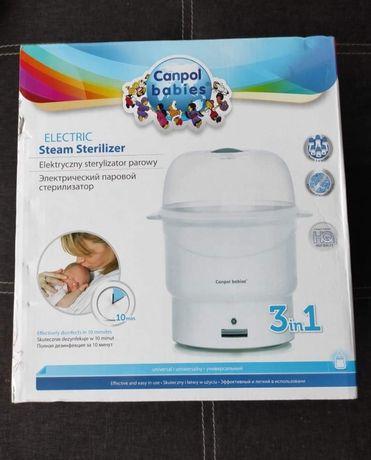 Elektryczny sterylizator parowy, Canpol babies, sterylizator butelek