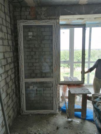 Оконная рама балкона