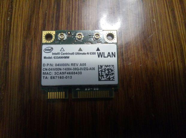 модули wifi диапазон 2,4/5 Ghz intel N-6300