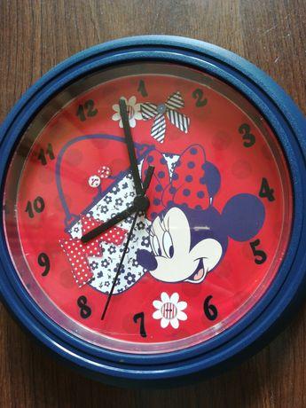 Zegar Myszka Minie, dla dziewczynki