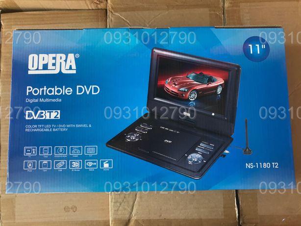 Opera NS-1180 Портативный DVD-проигрыватель с Т2 TV USB SD экран 11