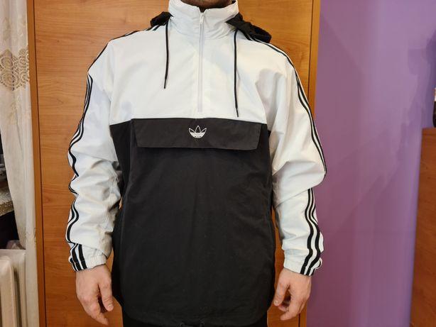 Nowa oryginalna kurtka wiatrówka adidas M/L