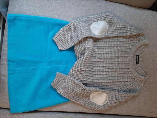 Zestaw sweter i spodnica