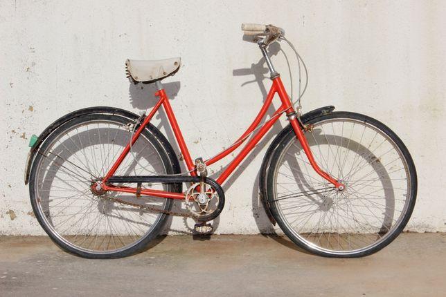 Bicicleta Vilar - Antiga - Vermelha