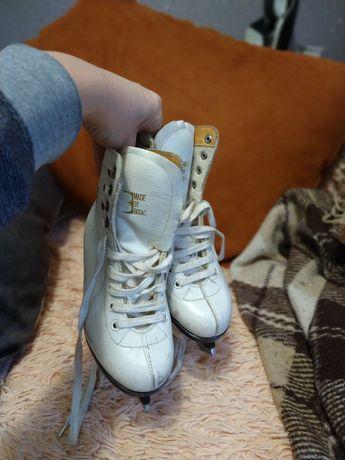 Ботинки с коньками 20,5 по стельке