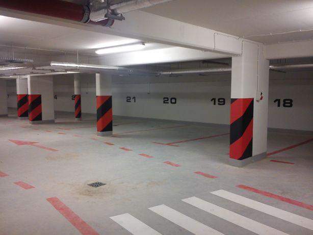 Wynajem miejsca postojowego w garażu podziemnym