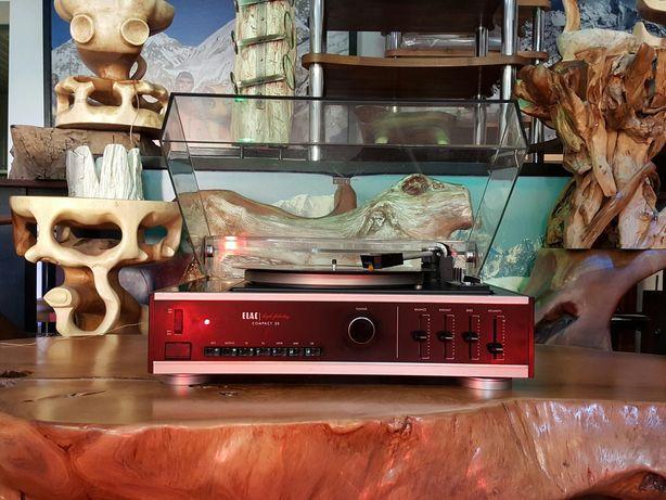 Gramofon ELAC Compact20 /zobacz wzmacniacz, amplituner i kolumny/