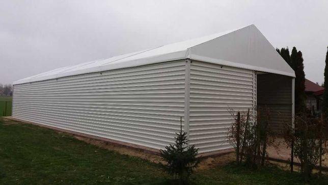 Hala namiotowa,magazyn-konstrukcja stalowa ocynkowana,podłoga 20x7x4,5