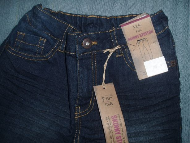 Нові джинси для хлопчика на 7-8 років F&F kids