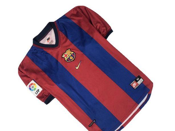 Футбольная футболка nike barcelona