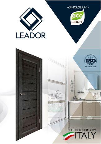 """Деревянные межкомнатные двери ТМ """"Leador"""" по итальянским технологиям"""