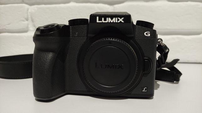 Lumix g7 + Lumix 14-42 + lumix 25 1.7