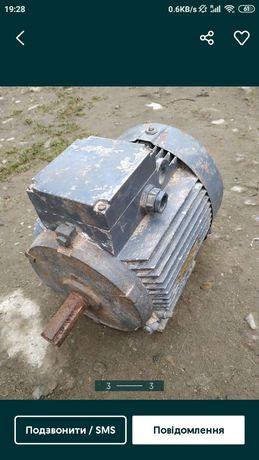 Електричний мотор 3кВт, 220/380вольт