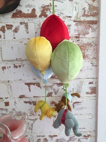 Nietuzinkowa Zawieszka nad łóżeczko dla dzieci Ikea Balony
