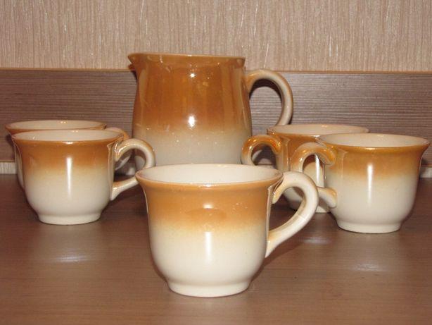 Чайный молочный сервиз Буды чашки
