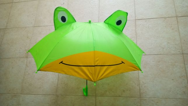 Guarda chuvas para criança