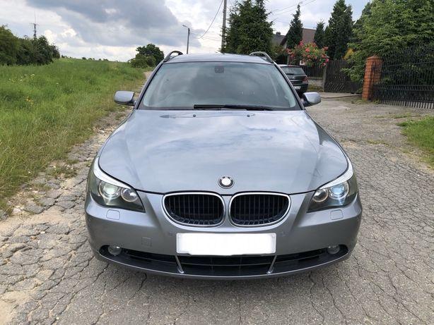 BMW E60 E61 525i 2.5 192km m54B25, SILBERGRAU METALLIC - NA CZESCI !