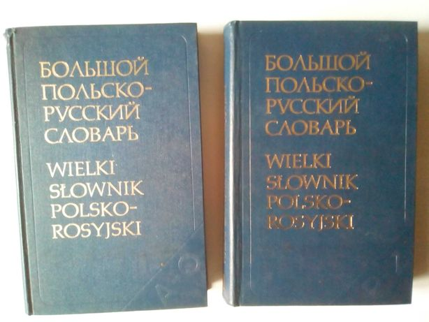 Большой польско-русский словарь великий польсько-російський словник