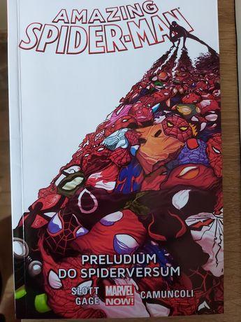 Amazing spider man prelodium do spiderversum