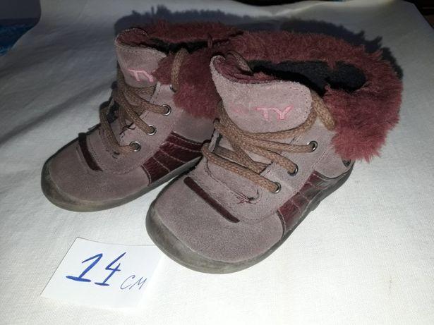 Ботиночки кожа 21 р-р 14 см