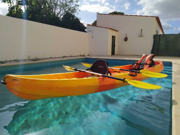 Kayaks SIT-ON-TOP duplos (kit completo)
