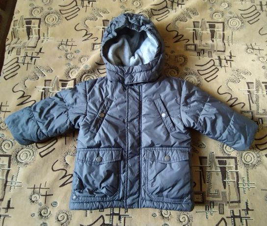 Курточка флис mexx на мальчика 9-12 месяцев
